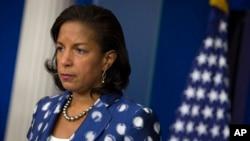 Susan Rice, asesora de seguridad nacional del expresidente Barack Obama, niega que haya espiado a aesores de Donald Turmp durante su campaña por la Casa Blanca.