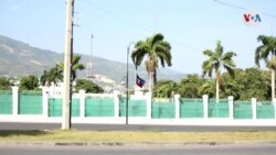 La primera dama de Haití hospitalizada en Miami