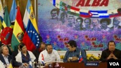 Entre los países miembros del ALBA están Ecuador, Cuba, Venezuela, Bolivia y Nicaragua.