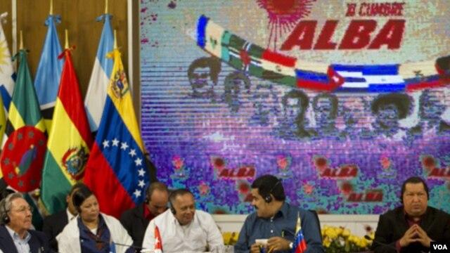 Chávez trató de dar cuerpo a su Socialismo del Siglo XXI en la Alianza Bolivariana de los Pueblos de Nuestra América (ALBA):