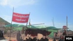反对中资铜矿 缅甸人不顾政府禁令继续抗议