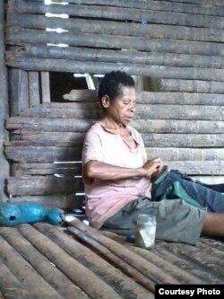 Ibu Paskalis yang tinggal di Papua (Dok: Paskalis Kaipman)
