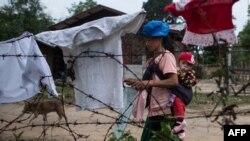 ကခ်င္ IDP စခန္းတခု