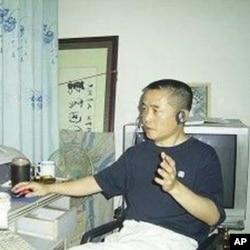 """""""六四天网""""创始人黄琦(档案照片)"""