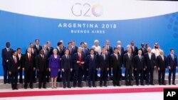 KTT G20 di Buenos Aires, Argentina gagal menghasilkan kemajuan soal bagaimana menangani perubahan iklim.