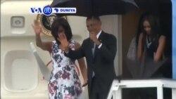VOA60 DUNIYA: CUBA Shugaba Barak Obama Ya Isa Birnin Havana, Maris 21, 2016