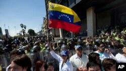 Las protestas en Venezuela continúan con la participación de diversos sectores de la sociedad civil.