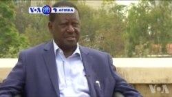 VOA60 AFIRKA: Shugaban 'Yan Adawar Kasar Kenya, Raila Odinga, Ya Ce Yana Bukatar Gwamnatin Hadin Guywa Ta Rike Kasar Har Zuwa Watanni 6