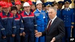 哈薩克總統納扎爾巴耶夫。