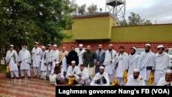 د طالبانو لخوا له بنده ازاد شوي کسان
