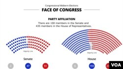The Face of Congress Graphic