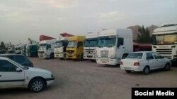 اعتصاب رانندگان و کامیون داران در ایران