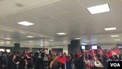 台湾国民党党主席朱立伦访问华盛顿