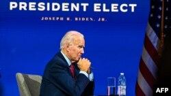 Zababben shugaban Amurka Joe Biden.