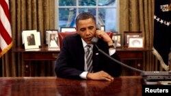 Obama dijo que está pidiendo al Congreso que envíe el mensaje al mundo de que EE.UU. está unido como una sola nación.