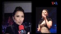 Ruth Sahanaya di Los Angeles, California - Liputan Pop News VOA untuk Dahsyat