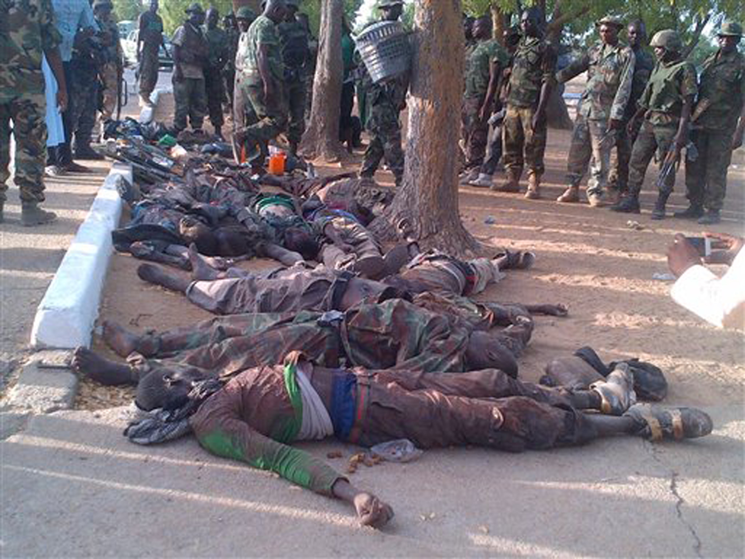 Possible Nigeria boko haram massacre commit