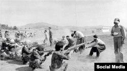در دهه شصت در ایران هزاران معترض کشته شدند.