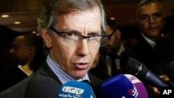 Wakilin Majalisar Dinkin Duniya Libya Bernardino Leon wanda ya gama wa'adinsa.