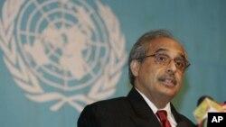 Utusan PBB untuk Burma, Vijay Nambiar (Foto: dok).