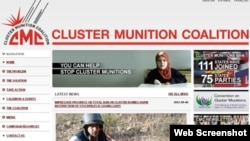 Trang web của tổ chức chống bom chùm