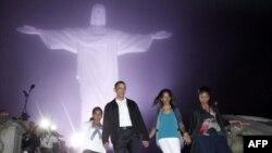 Presidenti Obama përshëndet demokracinë dhe përparimin social në Brazil