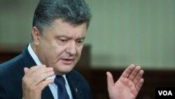 페트로 포로셴코 우크라이나 대통령 (자료사진)