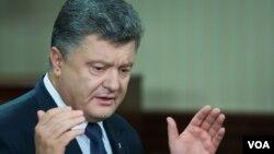 Ukraina Prezidenti Petro Poroshenko