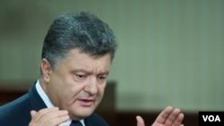 烏克蘭總統波羅申科。