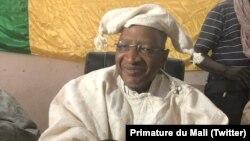 Le Premier Ministre Soumeylou Boubeye Maiga anime la Conférence des Cadres à Bandiagara, au Mali, le 26 mars 2018. (Twitter/Primature du Mali)