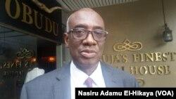 Hassan Boubacar Diallo alakalin alkalan kasar Gambia wanda ya kasance a taron na Abuja
