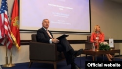 Premijer Milo Đukanović na sastanku Američke privredne komore u Crnoj Gori (rtcg.me)