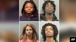 Các công tố viên ở quận Cook, bang Illinois ra phán quyết kết tội hình sự vì hận thù chủng tộc, và bắt cóc người đối với các nghi phạm Jordan Hill, Brittany Covington và Tesfaye Cooper, tất cả đều 18 tuổi, và Tanishia Covington, 24 tuổi.