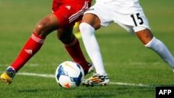Une dizaine de réfugiés afghans et soudanais a aidé l'équipe du club de football du village de Bellenaves à gagner. (Photo d'illustration).