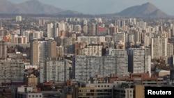 Vue panoramique de Santiago, Chili, 6 juin 2019. (REUTERS/Rodrigo Garrido)