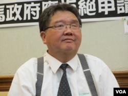 台灣財政部國庫署副署長戴龍輝。