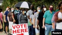 امریکہ کے سیکیورٹی اور انٹیلی جینس حکام کا کہنا ہے کہ انہیں یقین ہے کہ آنے والے انتخابات، جدید تاریخ میں سب سے محفوظ انتخابات ہوں گے۔ (فائل فوٹو)