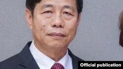 မိုးကုတ္ၿမိဳ႕က စီးပြားေရးလုပ္ငန္းရွင္ ဦးေက်ာ္ဝင္း။ (ဓာတ္ပံု - Kyaw Win's Facebook - ဇူလိုင္ ၂၉၊ ၂၀၁၆)