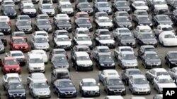 독일 북부 지역의 폭스바겐 자동차 공장.