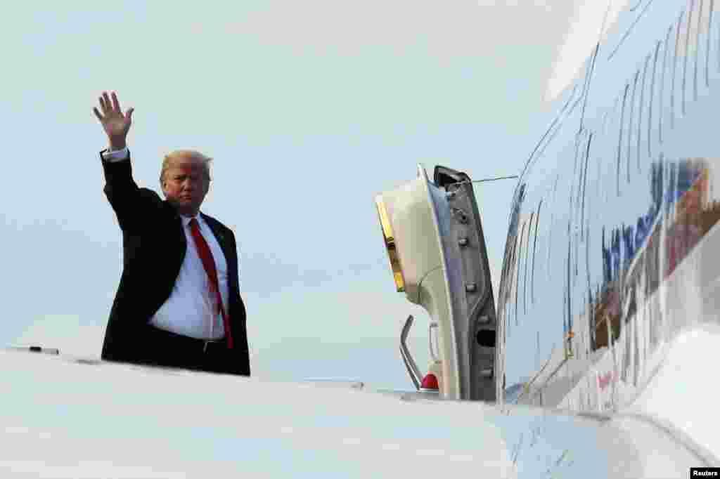 پرزیدنت ترامپ سنگاپور را به مقصد واشنگتن ترک کرد. پرزیدنت ترامپ که برای دیدار با رهبر کره شمالی به سنگاپور سفر کرده بود، از آماده شدن آمریکا و کره شمالی برای گشودن فصلی جدید در تاریخ مناسبات دو کشور خبر داد.