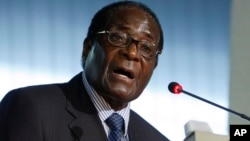 UMongameli Robert Mugabe.