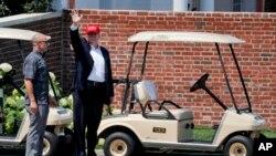 Трамп в Бедмінстері