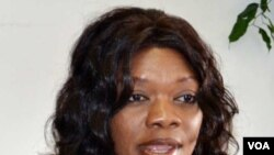 Zambian Tourism Minister Sylvia Masebo