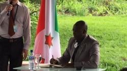 Sindimwo Yipfuza ko mu Burundi Hasigara CNDD-FDD na UPRONA Gusa