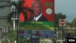 Presidential Candidate Moise Jean Charles