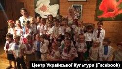 Фото: Маленькі вихованці школи народного співу у Гантері