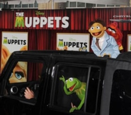 "The stars arrive for the premiere of ""The Muppets"" movie in Los Angeles"
