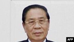 Chủ tịch nước kiêm Tổng Bí thư Lào Choummaly Sayasone
