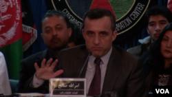 د امرالله صالح په مشرۍ دغه پلاوي نن د خپل رپوټ نتیجه په شلو پاڼوکې د رسنیو سره شریکه کړه.