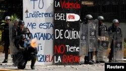 Naciones Unidas dijo el miércoles que las fuerzas de seguridad de Venezuela han cometido violaciones a los derechos humanos de manera extendida y aparentemente deliberada para aplastar las protestas contra el Gobierno.